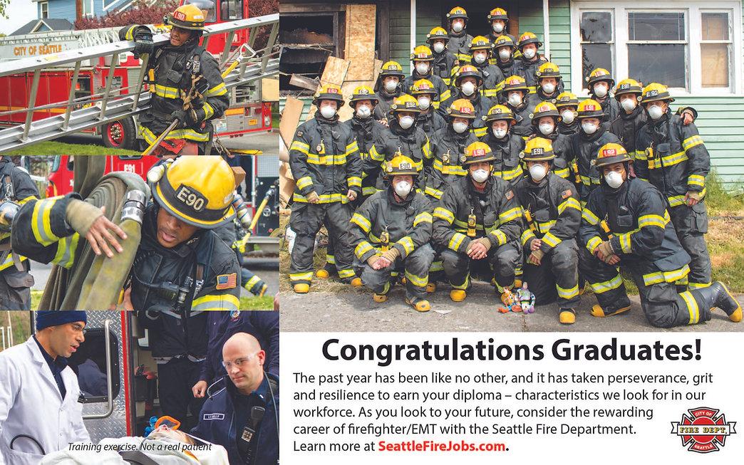 2021 Ad Congratulating Grads