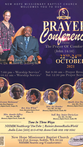 NEW HOPE PRAYER CONFERENCE