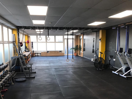 New UKSF Matting finally arrived for the Functional Fitness Bristol Studio