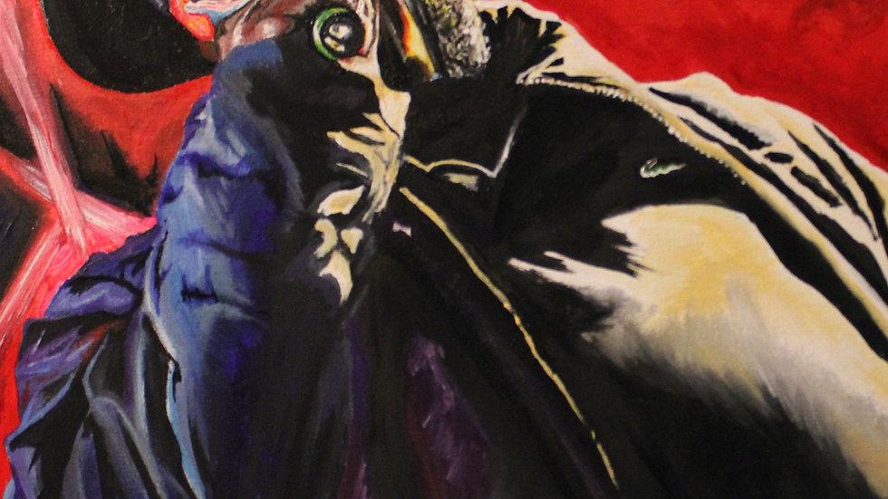 MF DOOM Original Painting 16x20