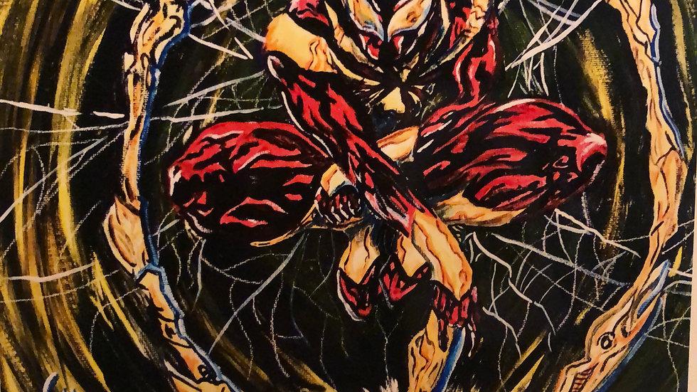 Iron Spider 8x 10 Print