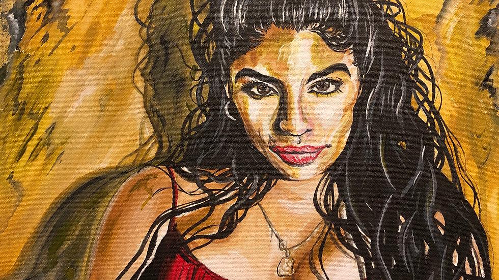 Jessie Reyez print 8x10