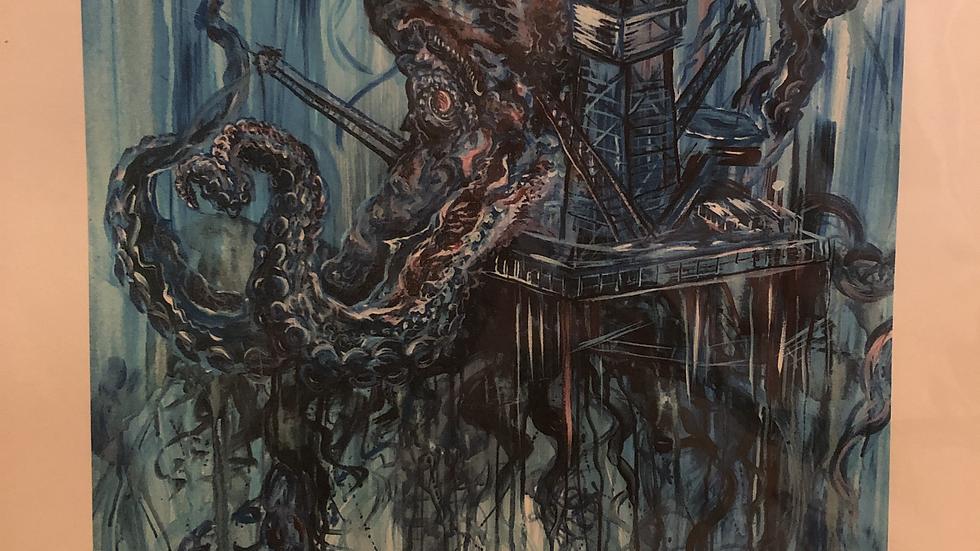 Oil + Ink print 8x10/13x19