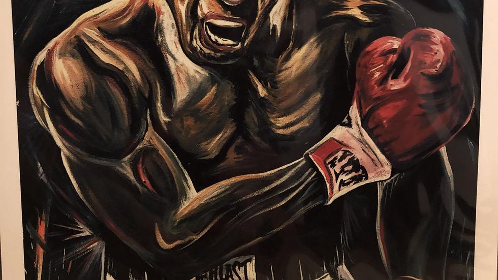 Muhammad Ali print 8x 10