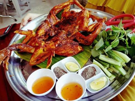 Khám phá đặc sản gà nướng Long Sơn
