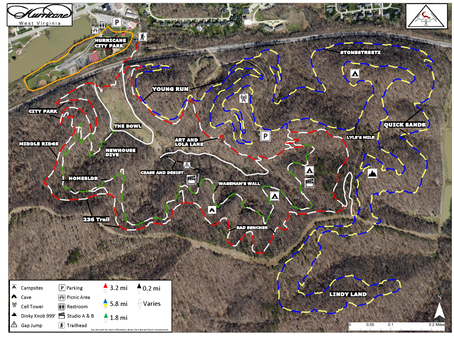 Updated Trail Map Now Availalbe