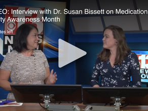 Interview with Dr. Susan Bissett on Medication Safety Awareness Month