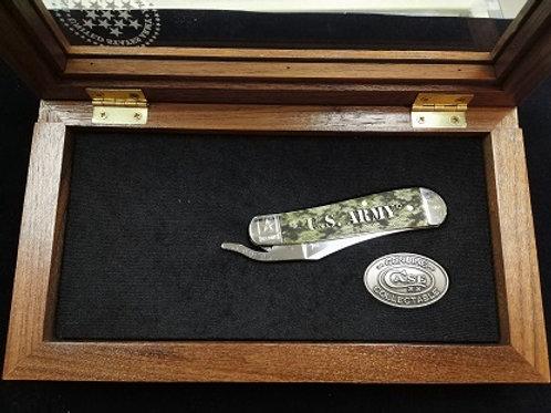 Army Framed Box Russlock