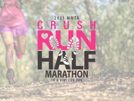 MMTA Crush Run Half Marathon set for February 13, 2021