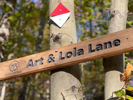 Art & Lola Lane