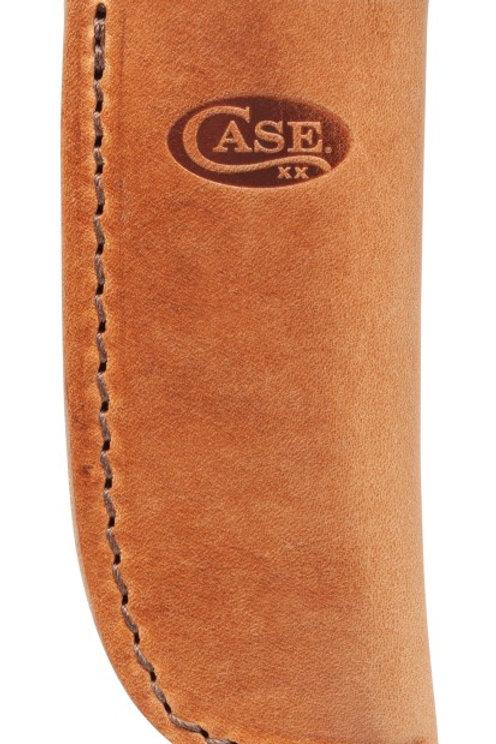 Large Light Brown Leather Sheath