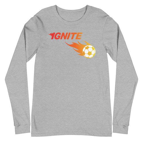 Ignite Soccer Unisex Long Sleeve Tee
