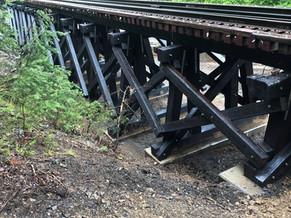 New Railroad Bridge Construction