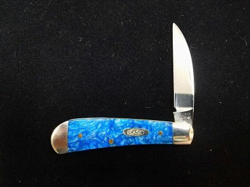 Blue Sparkle Kirinite Swayback