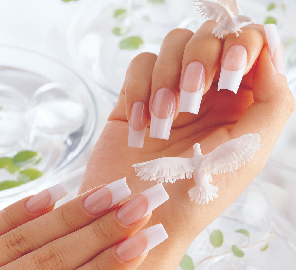 FULL SET PINK AND WHITE OMBRE