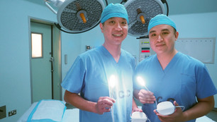 Light device shows the way during surgery in hospitals here