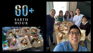 Earth Hour 2021 : Lunch in the dark!
