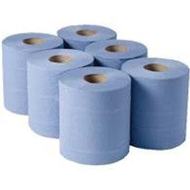 BB1814 BLUE PAPER ROLL
