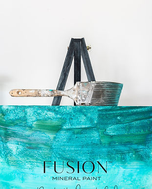 Fusion_Mineral_Paint_blue_ombre_wardrobe
