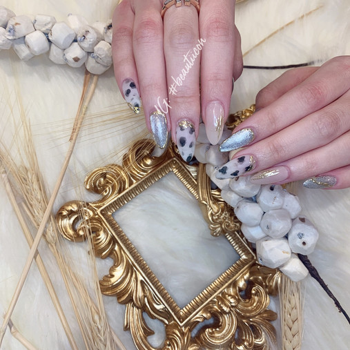 Japanese Nail Art on Extension