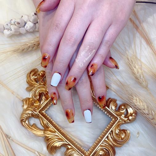 Japanese Nail Art w/ Russian Hard Gel Mani