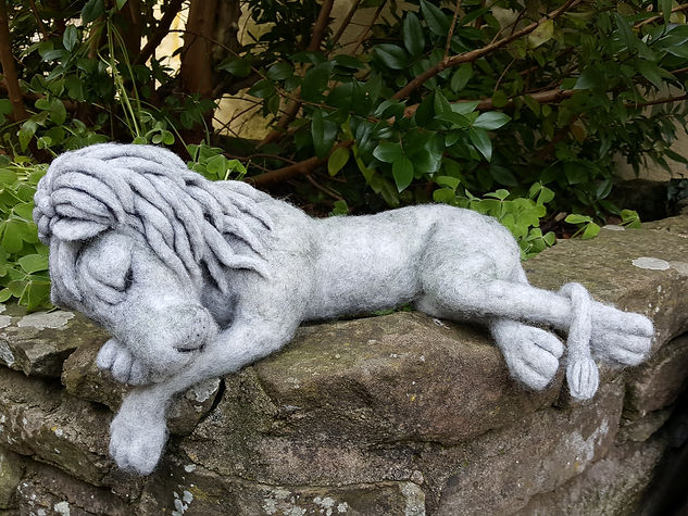 Stoned Lion