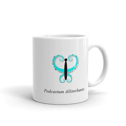 Datavizbutterfly - Podcastum Allitorbanus - Mug