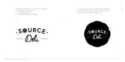 Sub brand guide for Deli