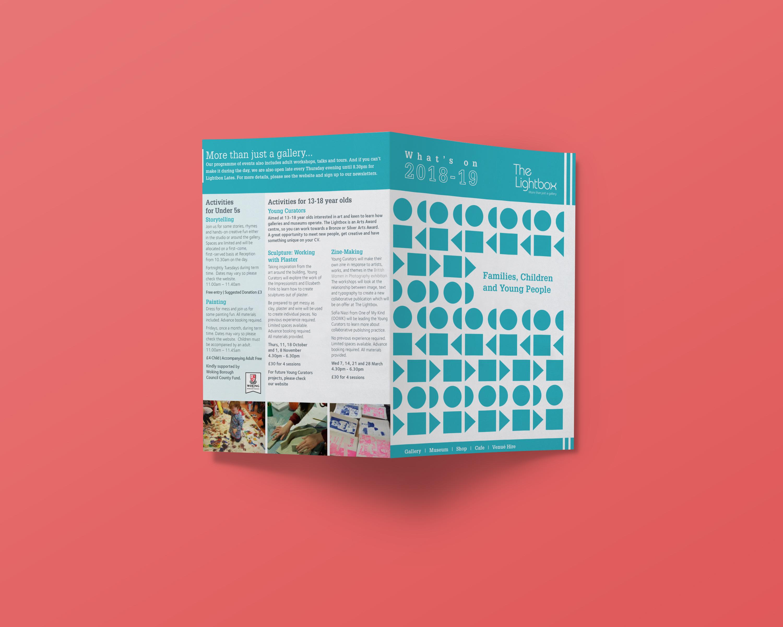 The Lightbox Family Leaflet