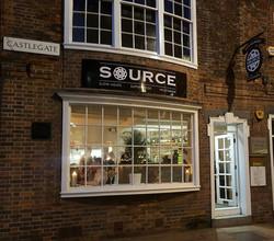 Source Restaurant - Signage variety