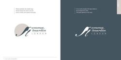 Emma Martin London logo style guide