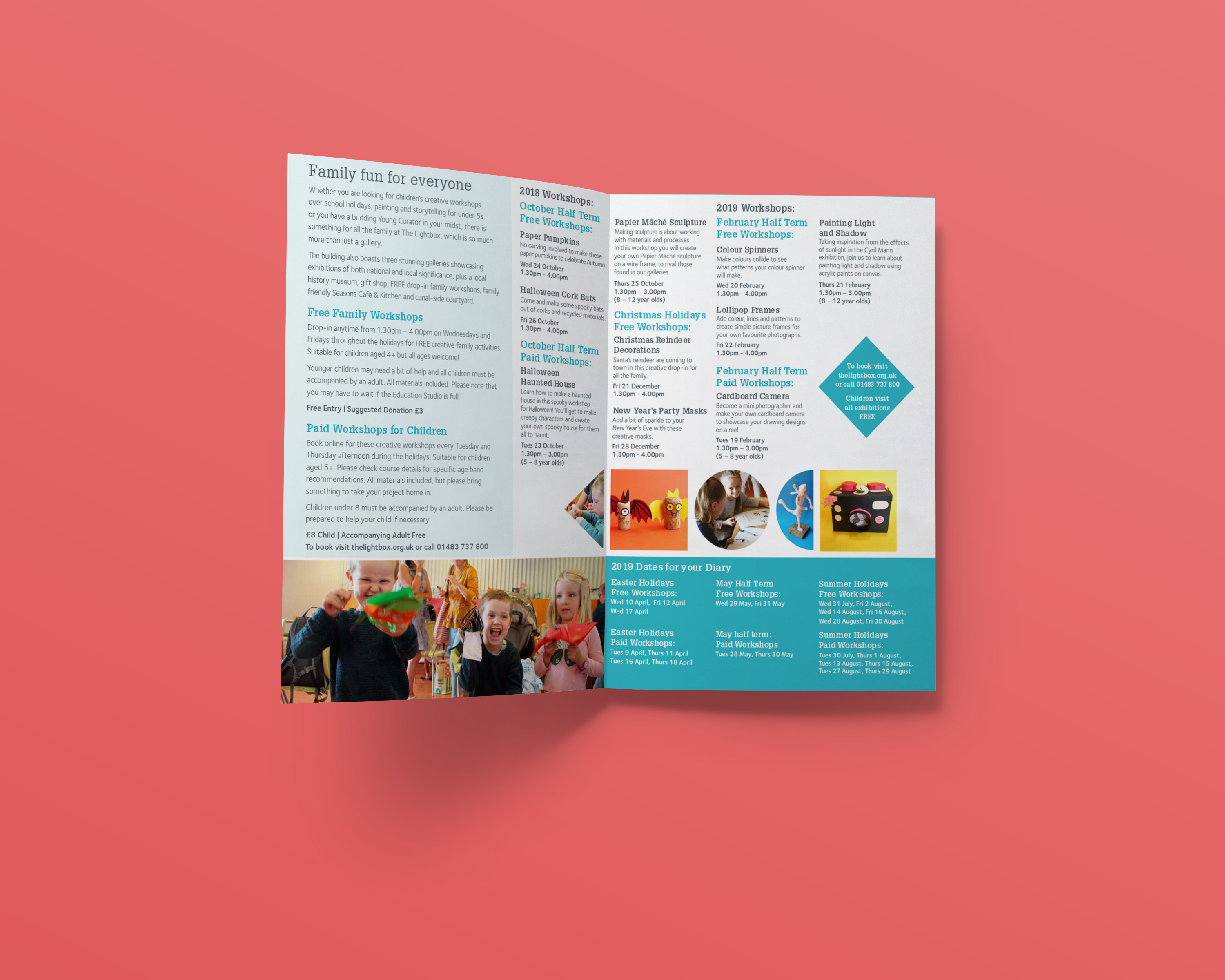 The Lightbox Family Leaflet
