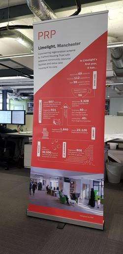 info Graphics and Pop-Up Banner