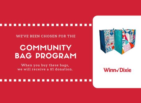 The Community Bag Program at Winn-Dixie