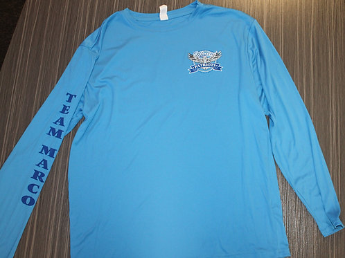 Men's Long Sleeve Crewneck Dri-fit UV Logo Shirt