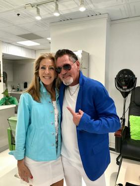 BIlly Sullo with Sandra Topel