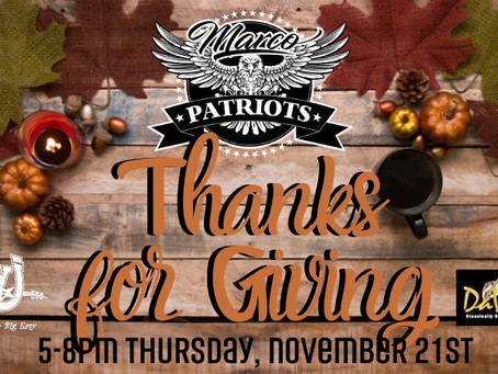 November Happy Hour FUNdraiser at DaVinci's onNov 21st