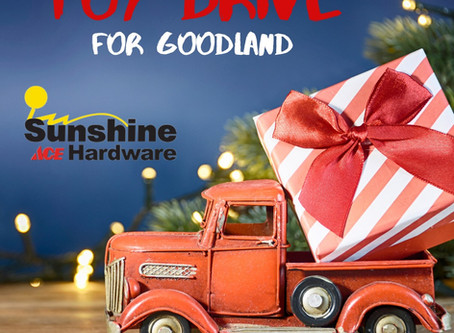 Christmas Toy Drive for the Children of Goodland