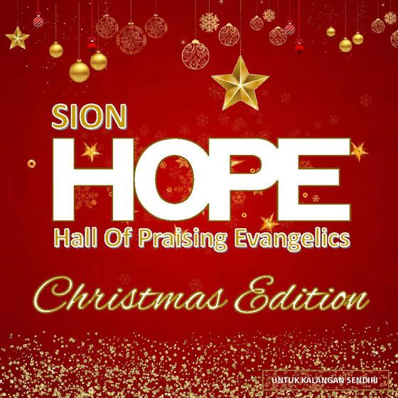 CD Sion Hope: CHRISTMAS EDITION