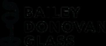 Bailey Donovan Glass Logo