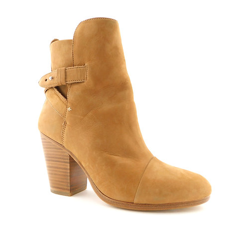 RAG & BONE Natural Nubuck Leather Bootie 39