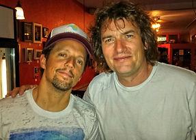 Chris Carpenter & Jason Marz celebrating the world of music