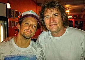 Jason Mraz and Chris Carpenter