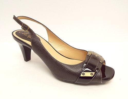 COLE HAAN Brown Slingback Heel 6.5