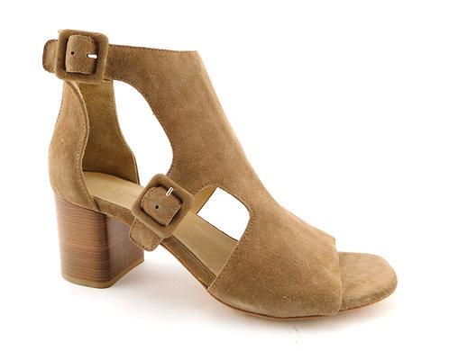 RAG&BONE Beige Suede T Strap Sandals 38