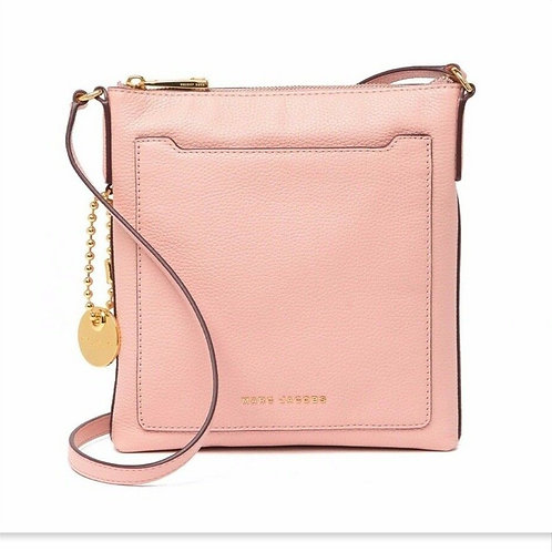 MARC JACOBS Rose Pink Leather Cross-body Bag