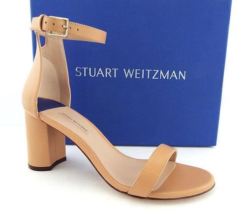 STUART WEITZMAN Beige Ankle Strap Sandals 9
