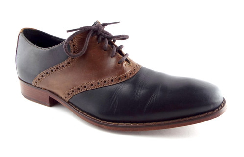 fb8e7226583 ... cole haan black brown saddle oxford 9 5 ...