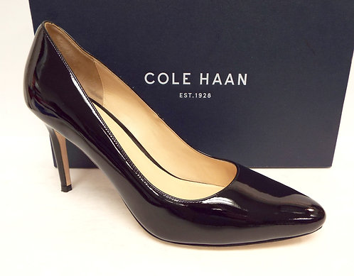 COLE HAAN BETHANY Black Patent Pump