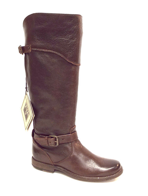 FRYE Company PHILLIP Brown Leather Riding Boot 6